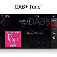 ZENEC Z-E2055: Autoradio für VE mit DAB+ für Digitalradionempfang und UKW Tuner