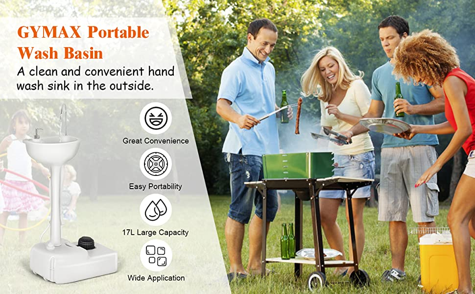portable wash basin