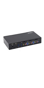 kvm switch displayport selector box computer pc laptop control multiple usb mouse keyboard video