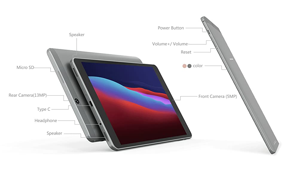 Android 10 tablet 8 inch