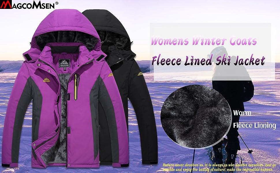 womens ski jacket winter jackets for women
