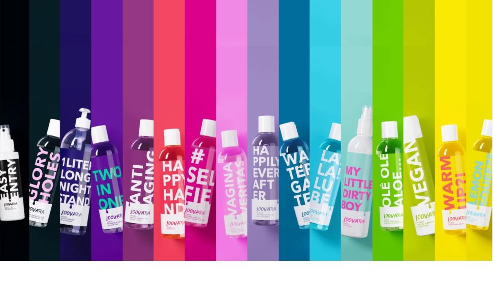 Loovara LaLaLube – Gel lubricante a base de agua, gel íntimo medicinal, máxima sensibilidad y delicado con la piel, sin sabor ni perfumes, no mancha, ...