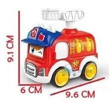 Fire rescue toys, construction truck for kids, toddlers unbreakable cars, truck toys for kids,