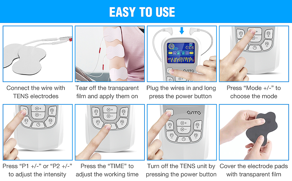 How to use tens unit