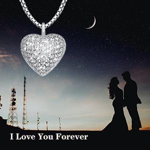 heart keepsake urn necklace