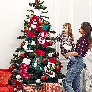 christmas stocking velvet 7