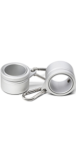 """1"""" Aluminum Flagpole Mounting Rings Set at anley for sale compatible with flag"""