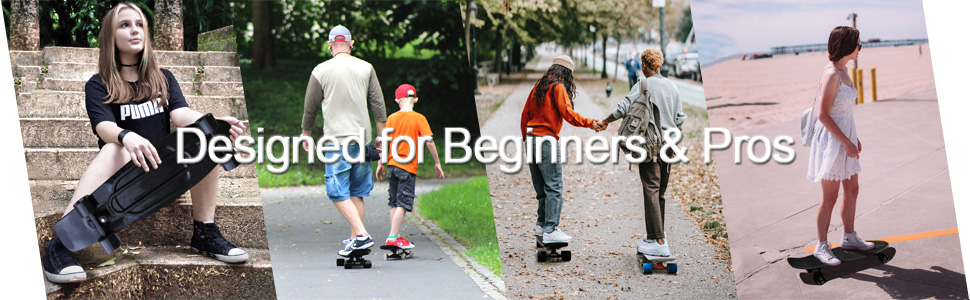 KMX 27 inch skateboard for kids teens adults beginners pros