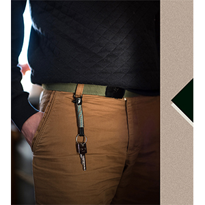 Rope keychain for men and women