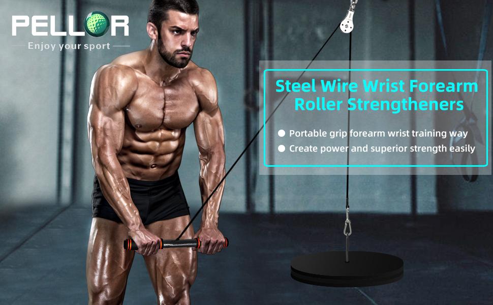 Forearm roller