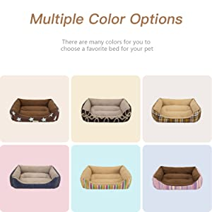 Multiple color options