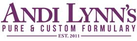 Andi Lynn's Pure & Custom Formulary Logo