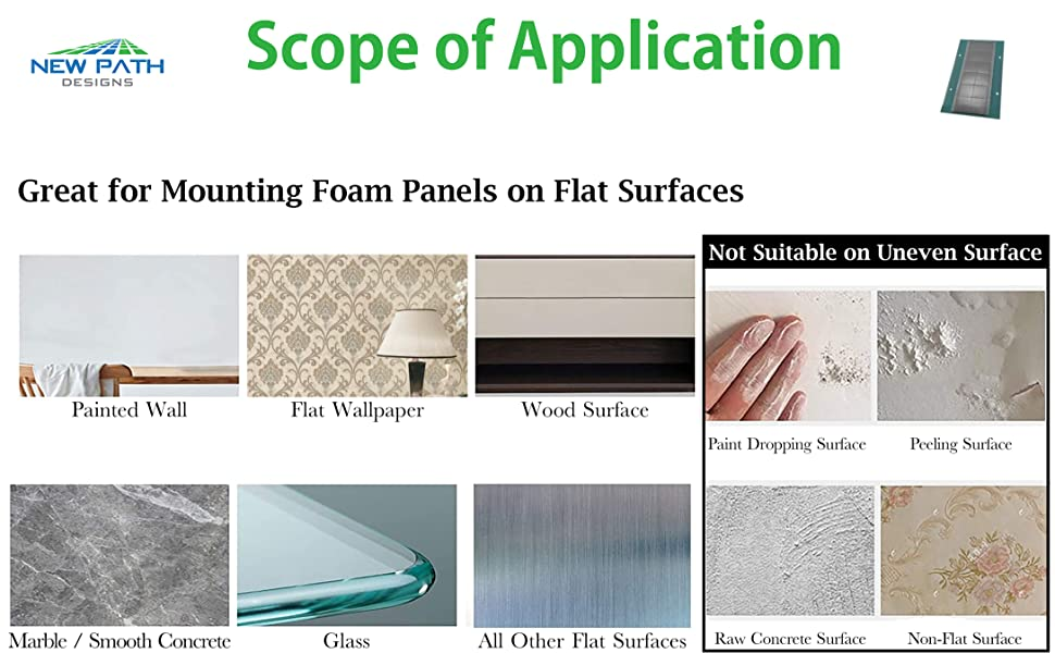 scope of application for tape