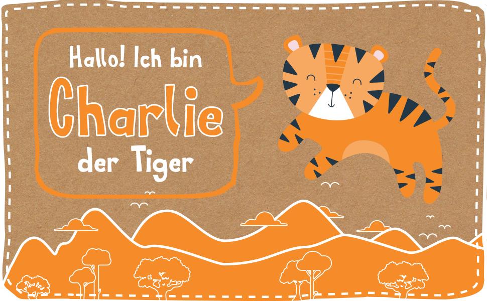 planet buddies, headphones, earphones, kids, charlie, tiger, character, animal, environment