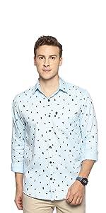 cotton printed shirts for men latest casual stylish fashion levizo
