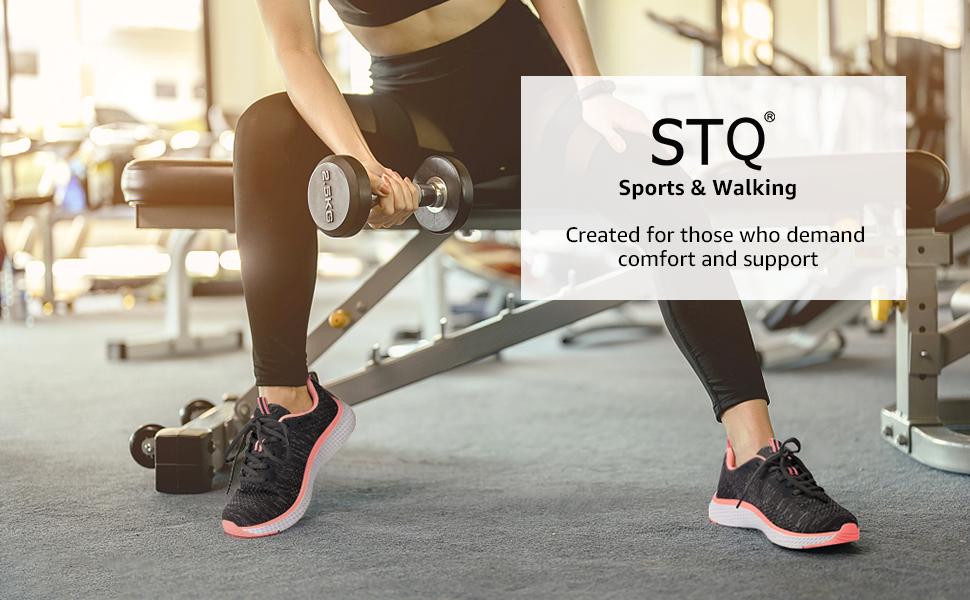 STQ walking shoes for women