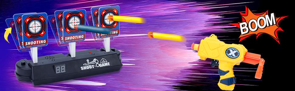 Electronic Target  Shooter for Nerf Gun Blaster-19
