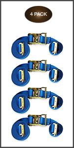 20 foot E-Track ratchet straps