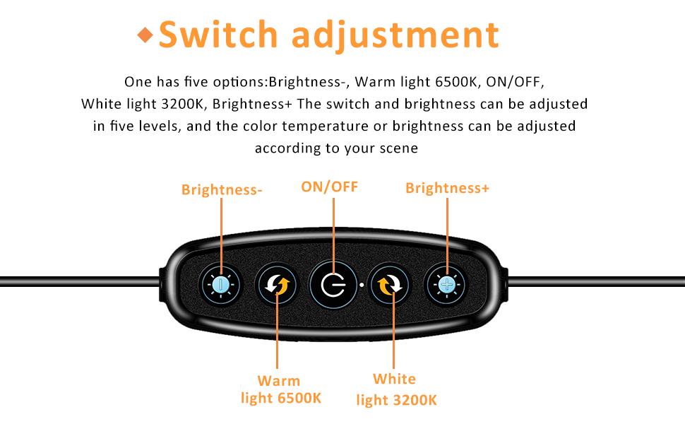 ELYCO Video Konferenz-Beleuchtungsset Fernunterricht Dimmbare LED 4 Ringlicht mit Klemmhalterung f/ür Fernarbeit Selbst/übertragung und Live-Streaming Computer und Laptop Videokonferenzen Licht