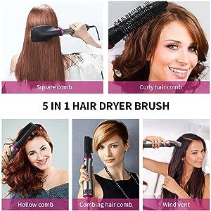 hair dry brush