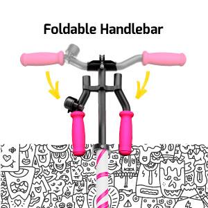 Foldable handlebar