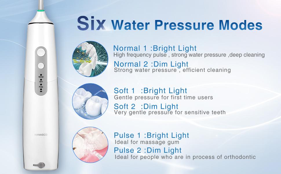 Dişler için Akülü Diş Irrigatörü