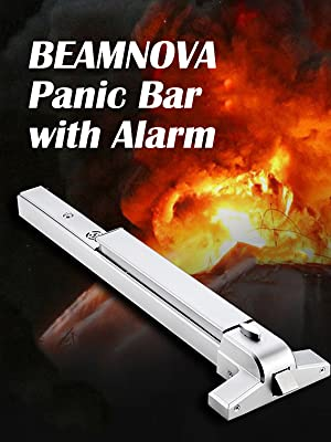 panic bar with alarm