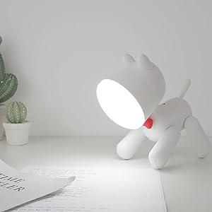Dog Desk Lamp Aolvo 2 in 1 Dog