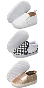 infant baby shoes for boys girls toddler slip on shoes canvas sneakers walking shoes non-slip