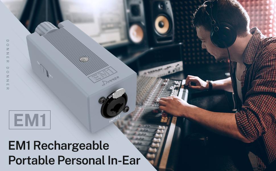 donner-em1-amplificatore-per-in-ear-monitor-ampli