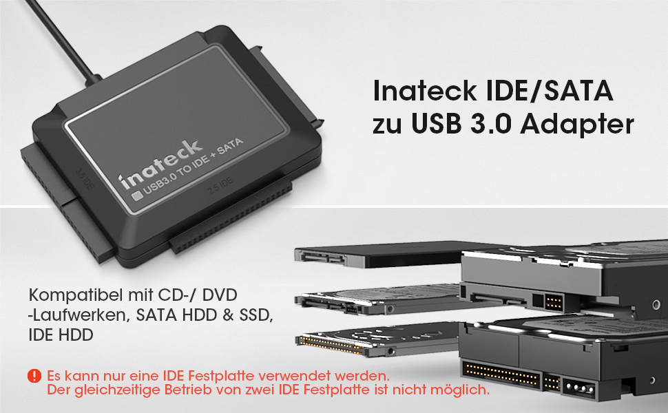 IDE/SATA ZU USB 3.0 ADAPTER