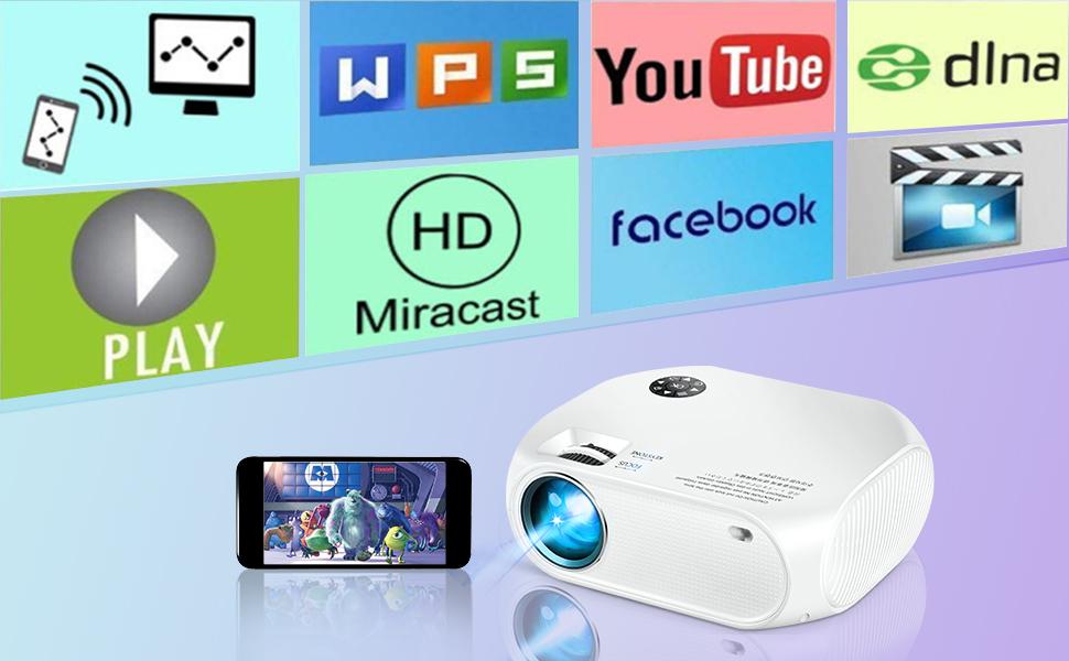 wifi video projector