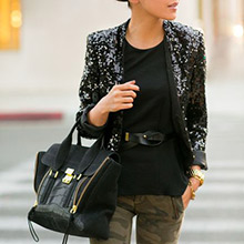 sequin jackets for work