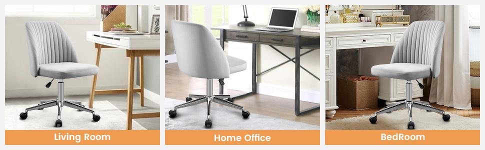 Vanspace velvet office chair
