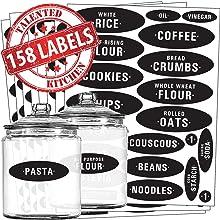 158 Chalkboard Pantry Label Set