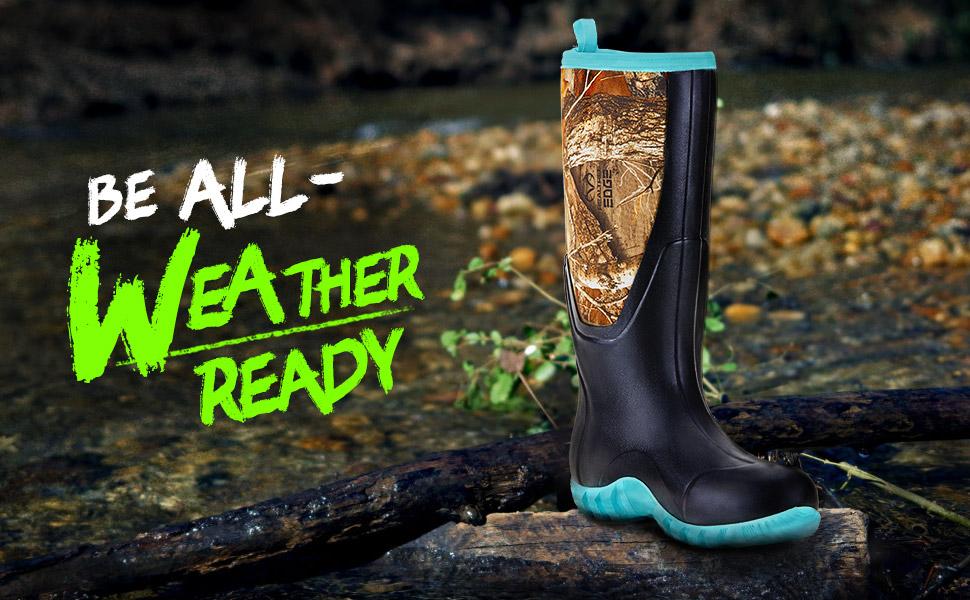 women  rain boot