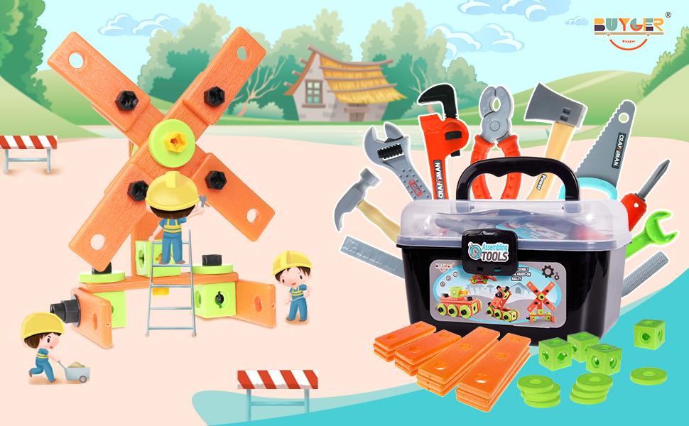 caja herramientas para niños
