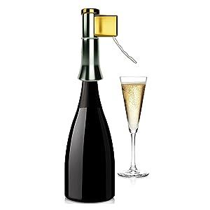 Descorjet Tire-bouchon Easy utiliser avec corps champagne cuisine