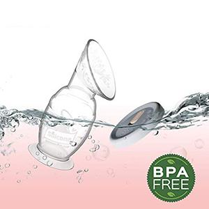 Haakaa Manual Breast Pump with Base 4oz/100ml+Lid