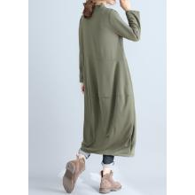 1/2 style (Nibunuichi Style) Beautiful Long Sleeve Jersey Body Cover Balloon Dress Women's