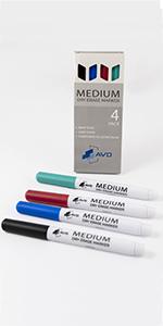 medium dry erase markers