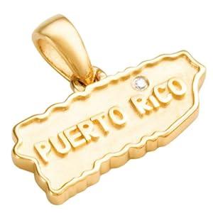 puerto rico jewelry charm 14k gold