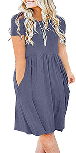 Swing Casual Flare Dress