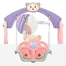 toddler basketball hoop toddler climber and swing set indoor swing for toddlers climbers for kids