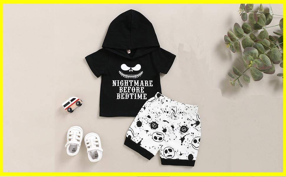 Nightmare Before Bedtime baby vest boys girls