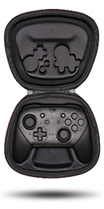 nintendo switch pro controller case storage pouch