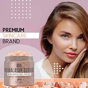 Stem Cell Himalayan Salt Face Scrub - Bed & Bath