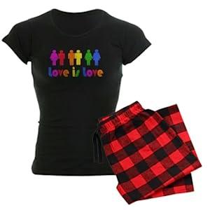LGBTQ Pride Womens pajamas set
