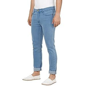Blue jeans for men;Jeans men washed;Jeans men Blue latest;Men jeans Blue;Jeans men slim fit stylish