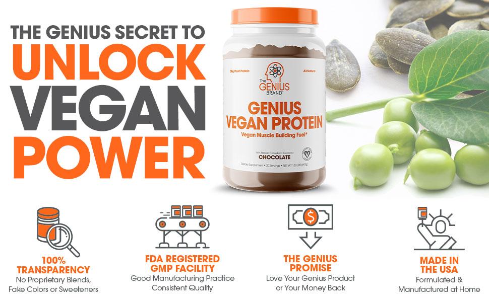 vegan protein powder, pea protein powder
